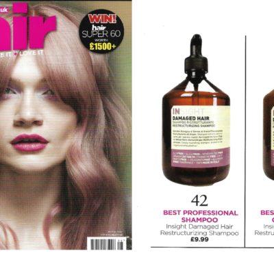 best professional shampoo hair magazine