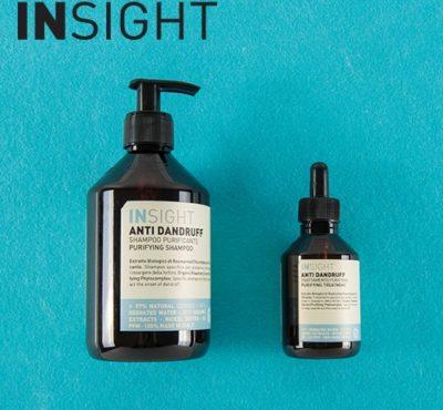 insight anti dandruff shampoo and purifying treatment