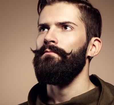 insight model with beard