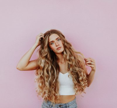 tame curly hair